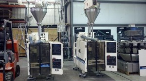Hayssen also makes integrated packaging lines that include vertical baggers