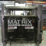 Matrix VFFS machine in packaging line