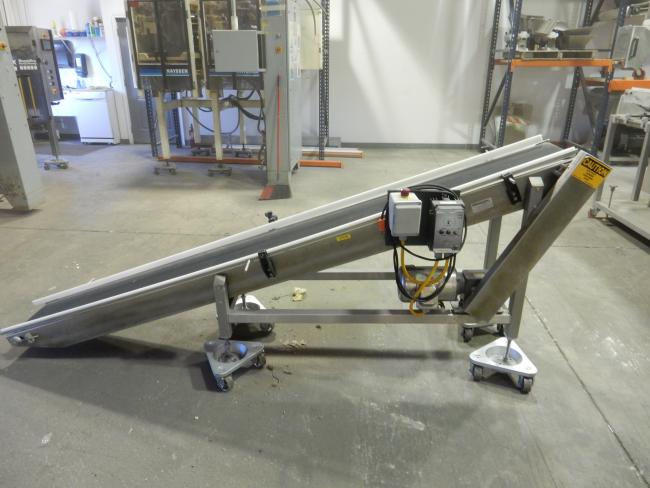 Used Wrabacon conveyor 1