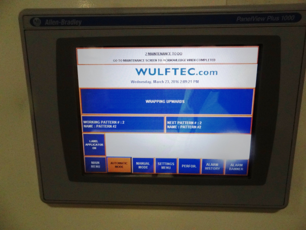 Used 2004 Wulftec WCRT 200 Pallet Wrapper for sale!!! - High